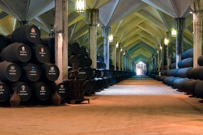 An Exclusive Visit to a Traditional Sherry Winery